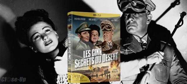 Les Cinq Secrets du Désert : 3 Combos DVD/Blu-Ray à gagner !