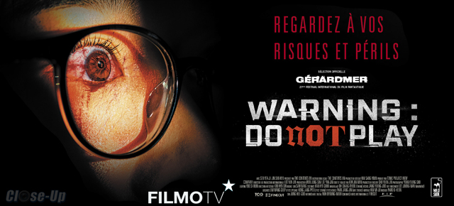 Warning – Do Not Play : 5 codes VOD à gagner !