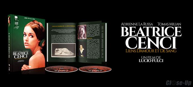 Beatrice Cenci : Test Blu Ray / DVD / Livre
